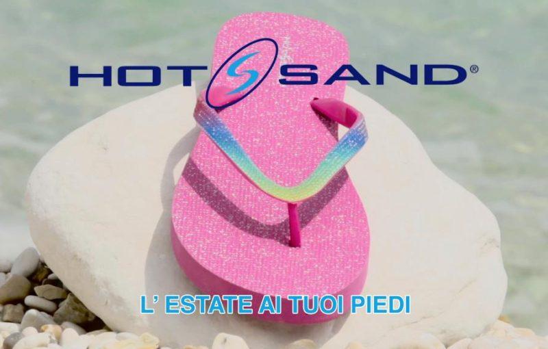 Campagna pubblicitaria Hot Sand